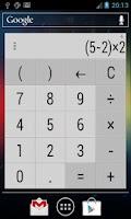 Screenshot of Calculator Widget 10 themes