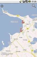 Screenshot of Strandvejr fra Trygfonden