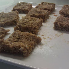 100 Calorie No Bake Whey Protein Bar Cookies
