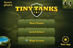 Screenshot of Tiny Tanks