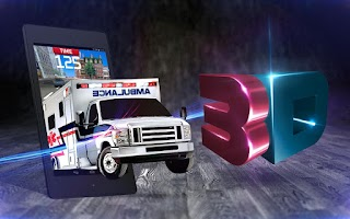 Screenshot of Emergency Ambulance Driving 3D