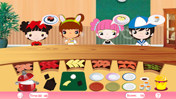 Screenshot of Busy Sushi Cooking