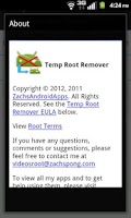 Screenshot of Temp Root Remover Donate