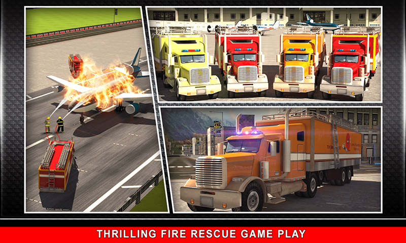 911 Rescue Fire Truck 3D Sim Screenshot 4