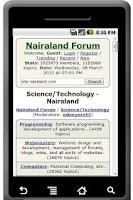 Screenshot of Nairaland Forum