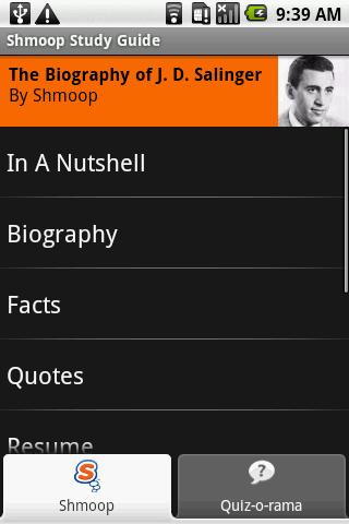 J.D. Salinger: Shmoop Guide