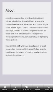 High Street Estate Agents - screenshot