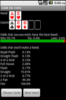 Screenshot of Texas Hold Em Odds