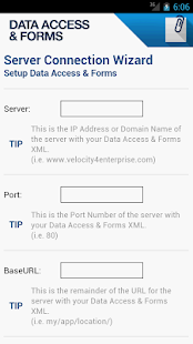 Data Access & Forms - screenshot