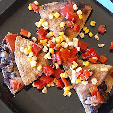 Corn And Black Bean Quesadillas With Roast Zucchini Salsa Recipes ...