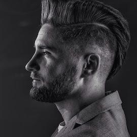 by Mattias Larsson - People Portraits of Men
