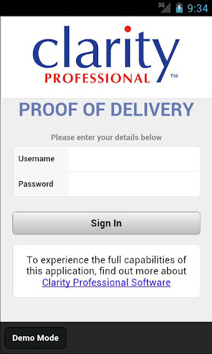 Clarity Proof of Delivery