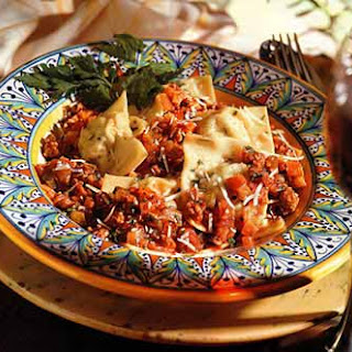 Potato-and-Sausage Torrelli with Ragù