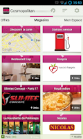 Screenshot of Cosmopolitan Bons Plans