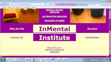 Screenshot of Software Psicología InMental
