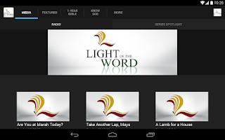 Screenshot of Light of the Word
