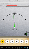 Screenshot of Full Guitar Tuner