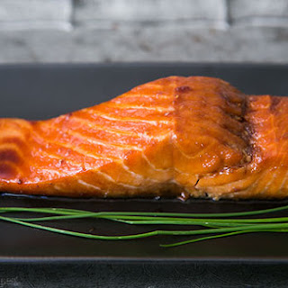Sake Ginger Glazed Salmon