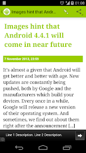 News about Android - screenshot