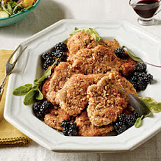 Sage-and-Pecan Pork Tenderloin Cutlets