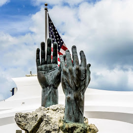 The Land of Hope and Freedom by Darrell Champlin - Buildings & Architecture Statues & Monuments