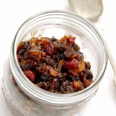Home-made Christmas Mincemeat with Cranberries