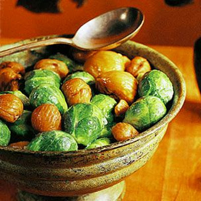 Brussels Sprouts with Chestnuts
