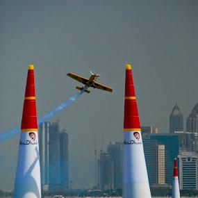 Red Bull Air Race Abu Dhabi 2014 by João Ferreira - Transportation Airplanes