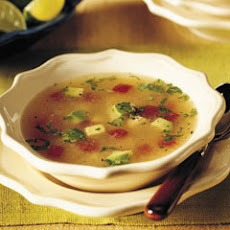 Mexican Chicken & Lime Soup