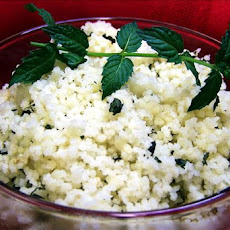 Moroccan Lemon Mint Couscous