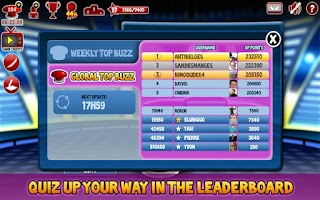 Screenshot of Superbuzzer Trivia Quiz Game