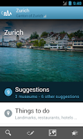 Screenshot of Switzerland Travel Guide
