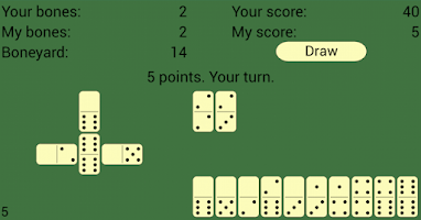 Screenshot of Electrum Dominoes Free