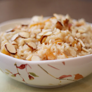 Apricot Brown Rice Pudding
