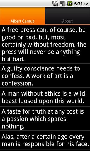 Camus Sayings