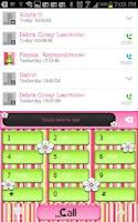 Screenshot of GO CONTACTS - Strawberry Kiwi