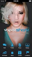 Screenshot of Vapor Shark Mobile