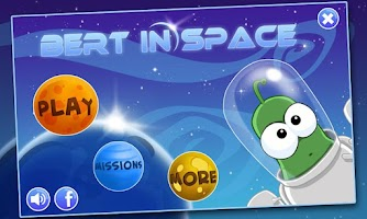 Screenshot of Bert In Space