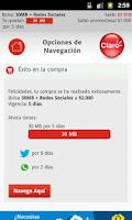 Screenshot of Mi Portal Claro