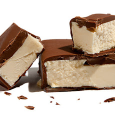 Chocolate-Dipped Vanilla Ice Cream Bars Recipe