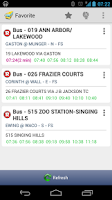 Screenshot of DART Dallas Area Rapid Transit