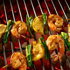 Shrimp Scampi Skewers