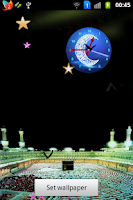Screenshot of Ramadan Moon Clock
