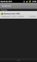 Screenshot of Battery Widget