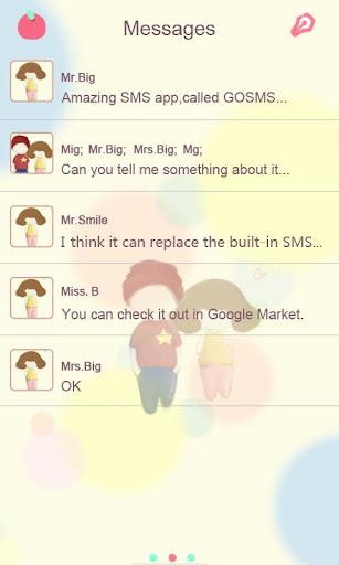玩漫畫App|GO SMSテーマZLOTUSLOVE免費|APP試玩