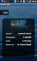 Screenshot of Lombok Travel Guide