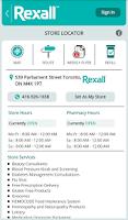 Screenshot of Rexall