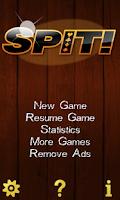 Screenshot of Spit !  Speed ! Card Game Free