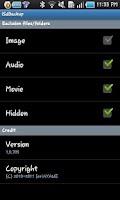 Screenshot of iSdBackup for Galaxy/Optimus2X