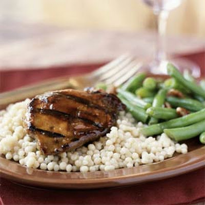 Apricot Grilled Duck Breasts